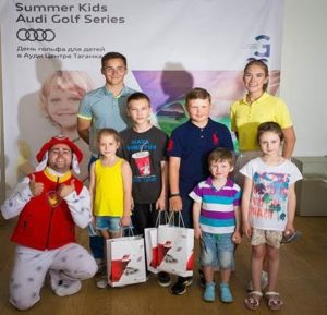 Турнир юных гольфистов