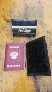 Обложка для паспорта и кошелек