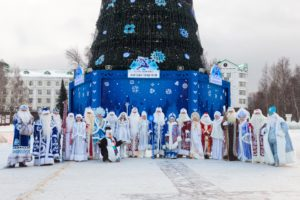 Ханты Мансийск Съезд Дед морозов