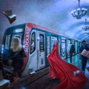 в метро 4