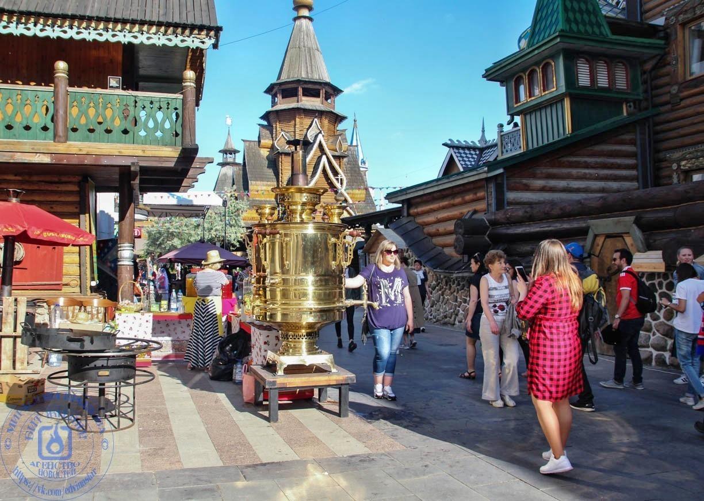 Фестиваль кухни в измайловском Кремле