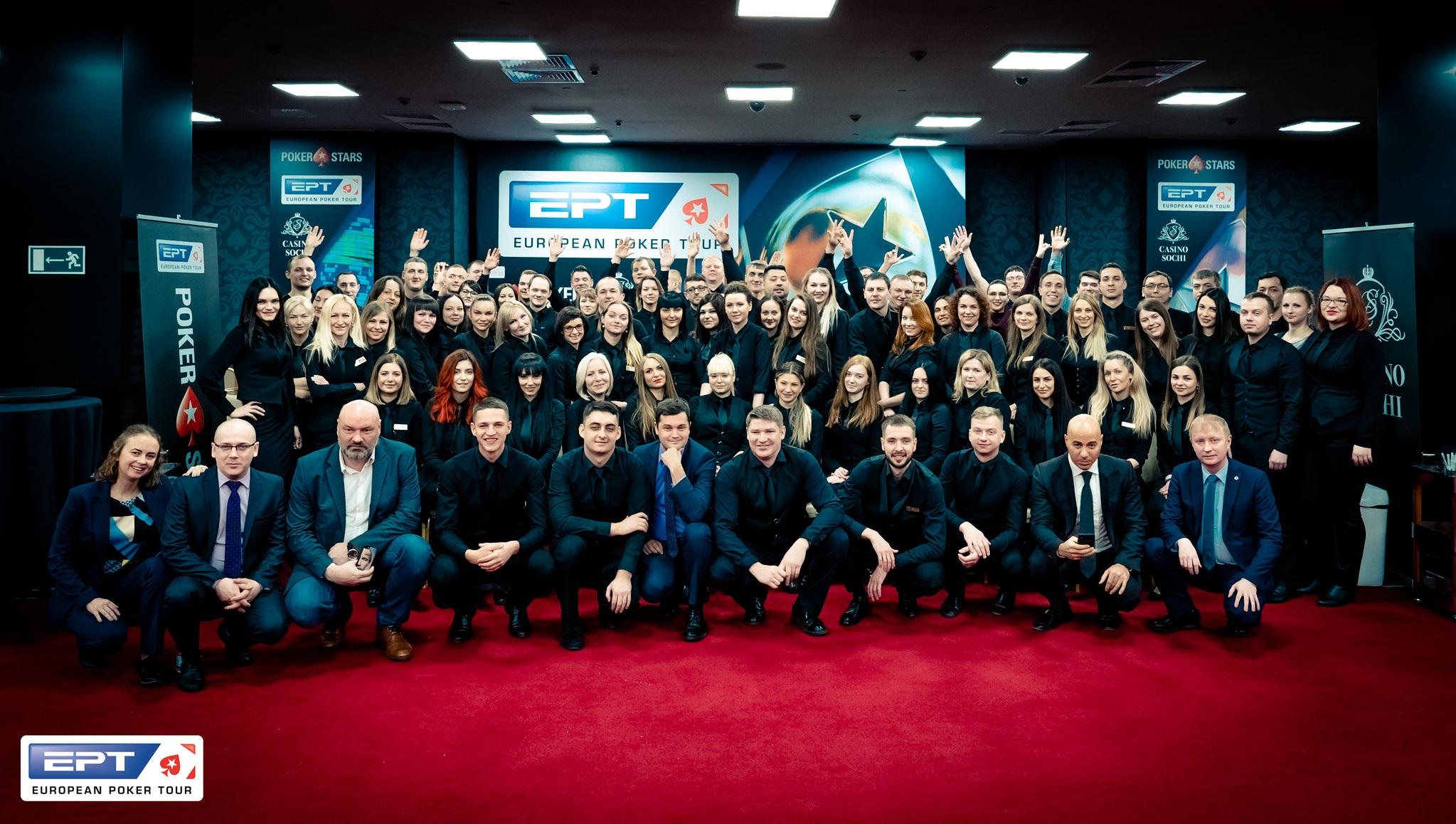 С 4 по 13 октября Казино Сочи будет принимать в своих стенах участников очередного этапа European Poker Tour Open