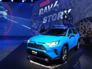 Презентация нового авто #rav4 toyota
