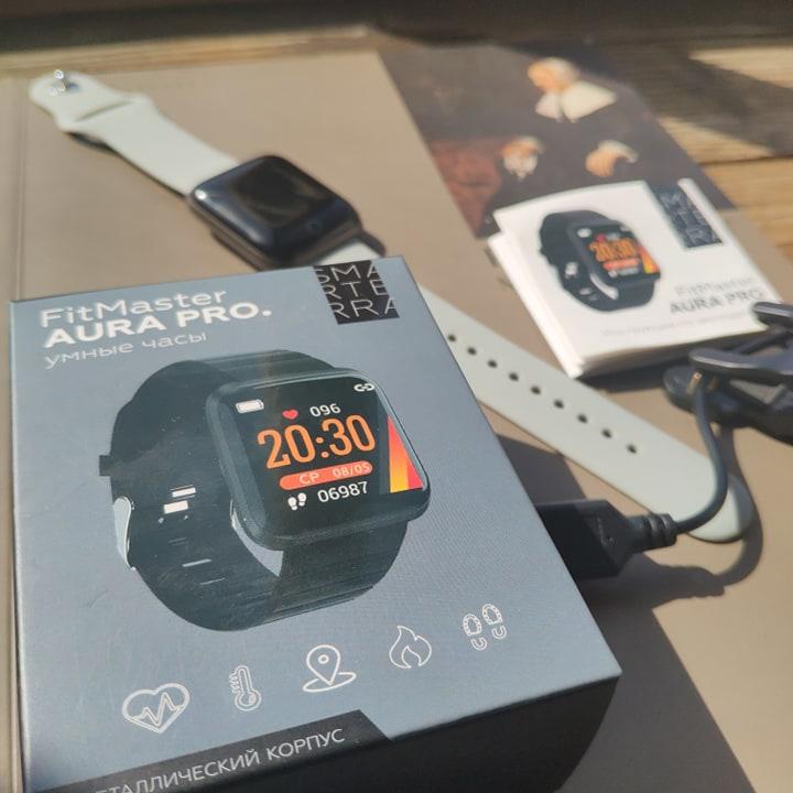 умные часы Smarterra FitMaster Aura