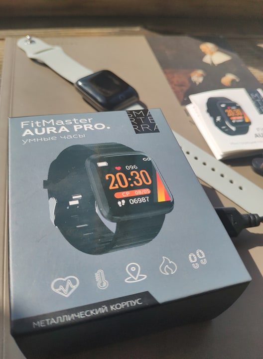 умные часы Smarterra FitMaster Aura6