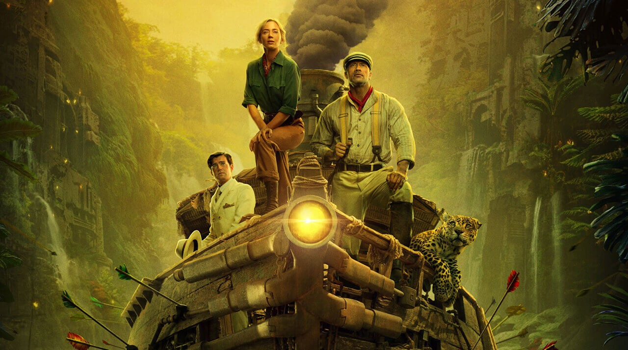 Круиз по джунглям с Эмили Блант и Дуэйном Джонсоном.